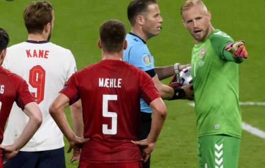 UEFA fined FA during the semi-final game